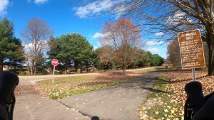 Moraine State Park Bike Trail